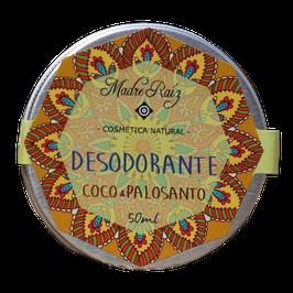 Desodorante Natural de Palo Santo y Coco Grande - Envase x 50 ml