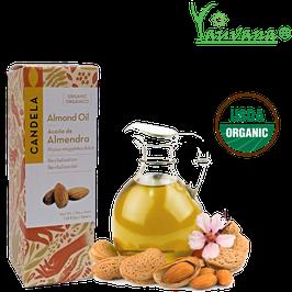 Aceite de Almendra Orgánico (Prunus amygdalus dulcis) - Frasco x 33 ml