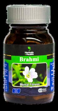 Brahmi (Bacopa monnieri)- Frasco x 60 cápsulas