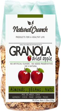 Granola con Manzana - Bolsa x 320 gr
