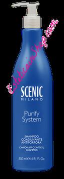 Scenic Shampoo per Capelli con Forfora Purify System 500ml