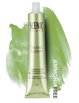 Scenic Colorazione permanente in crema Senza Ammoniaca 100ml