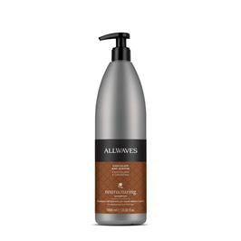 Allwaves Restructuring – Shampoo ristrutturante Cioccolato e Cheratina 1000ml