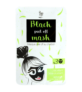 Peggy Sage Black Mask Maschera Peel Off Al Carbone 3 Pz da 7 gr