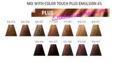 Confezione da 3 tubi tinta Wella Color Touch Plus 60ml