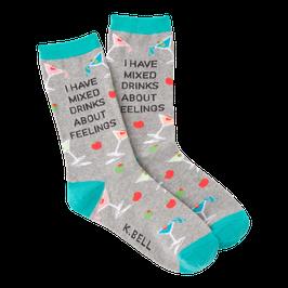 Women's Mixed Drinks Crew Socks