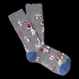 Men's Veterinarian Crew Socks