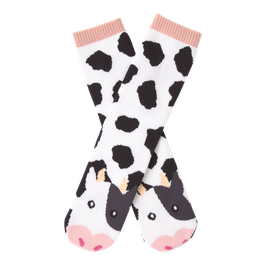 Women's Cow Tube Slipper