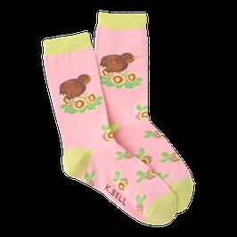 Women's Kiwi Bird Crew Socks