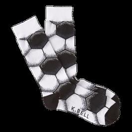 Men's Soccer Ball Crew Socks