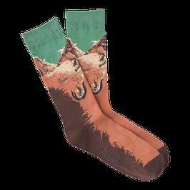 Men's Grizzly Bear Crew Socks