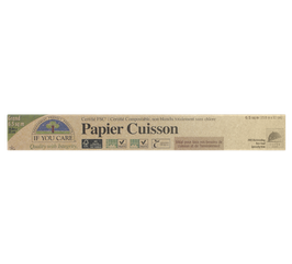 PAPIER CUISSON NON BLANCHI compostable grand format 19.8mx33cm