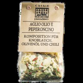 Aglio, Olio e Peperoncino - Komposition für Pasta 100g