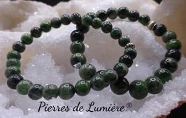 Bracelet perles diopside