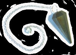 Pendule en Pyrite
