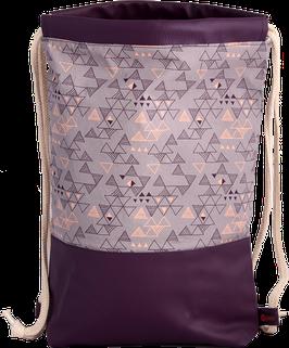 Modern - Lila-Dreiecke