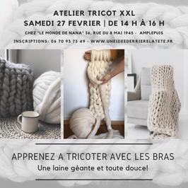 Tricot XXL - 24 Avril 2021
