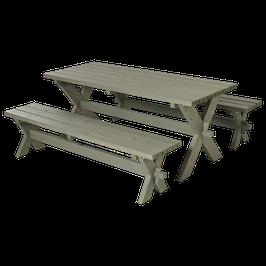 Sitzbänke/ Tisch Garnitur S6