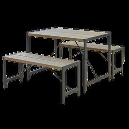 Sitzbänke/ Tisch Garnitur S4