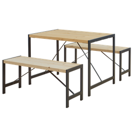 Sitzbänke/ Tisch Garnitur S3