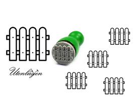 Zaun - mini Stempel