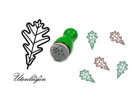 Blatt, Eichenblatt - mini Stempel