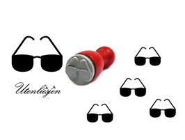 Sonnenbrille - mini Stempel