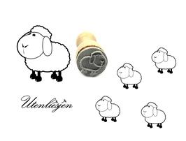 Schaf, Lamm - mini Stempel
