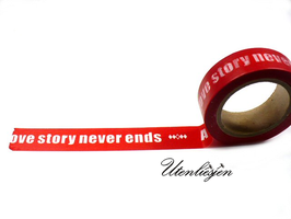 Washi Tape - Lovestory