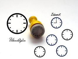 Uhr - mini Stempel