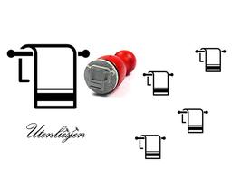 Handtuchhalter - mini Stempel
