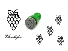 Weintrauben - mini Stempel