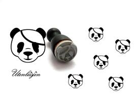 Pandabär Kopf - mini Stempel