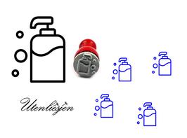 Seifenspender - mini Stempel