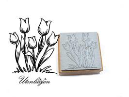 Tulpen - Motivstempel