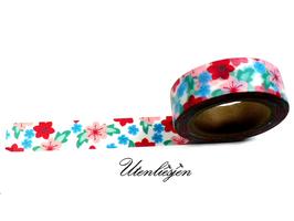 Masking Tape - Blüten, Hibiskus