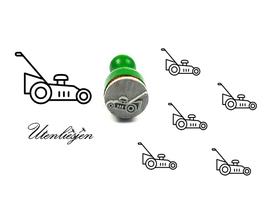 Rasenmäher - mini Stempel