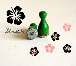 Stempel Hibiskus Blüte - Ministempel