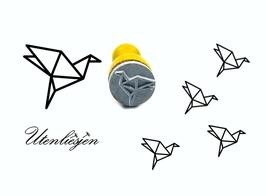 Origami Vogel - mini Stempel