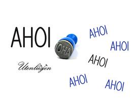 AHOI - mini Stempel