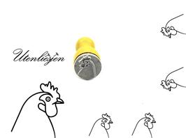 Huhn - mini Stempel