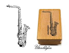 Saxophon - Motivstempel