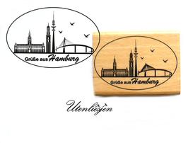 Motivstempel - Grüße aus Hamburg