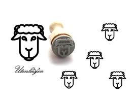 Schaf Kopf - mini Stempel