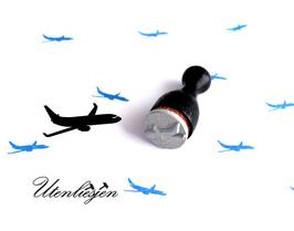 Flugzeug - Ministempel