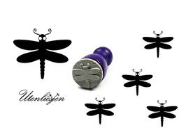 Libelle - mini Stempel