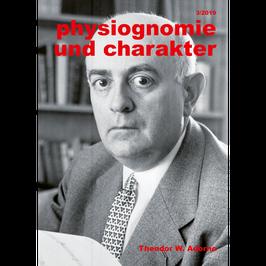 Physiognomie und Charakter 3/2019