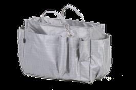 Handbag Organiser - silver grey