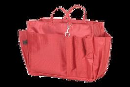 Handbag Organiser - cherry red