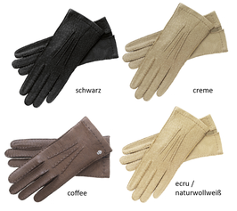 Roeckl Classic Peccary Damen Handschuhe ungefüttert